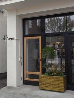 2×6 caramel Heath Ceramics Tile, Caramel, Tiles, Windows, Landscape, Kitchen, Home, Design, Sticky Toffee
