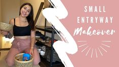 More Ideas for a SMALL Entryway! - YouTube Small Entryway Organization, Small Entryways, Crop Tops, Videos, Youtube, Women, Fashion, Mariana, Moda