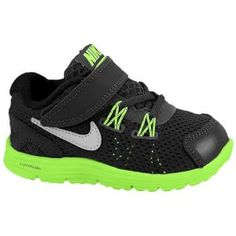Nike LunarGlide 4 - Boys' Toddler - Running - Shoes - Sequoia/Electric Green/Volt/Reflect Silver