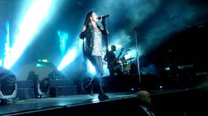 Within Temptation-- And We Run ft Xzibit - live in Moscow 2014