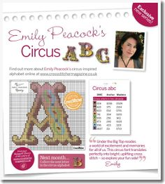 Emily Peacocks Circus ABC from the Crafts Circle