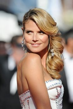 Heidi Klum's Gorgeous Curls - Wowza!