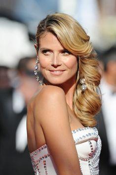 Heidi Klum's Gorgeous Curls - Wowza!
