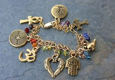 Hey, I found this really awesome Etsy listing at https://www.etsy.com/listing/102359988/chakra-colors-ancient-religions-gold