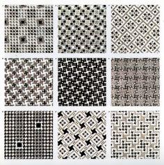 Houndstooth patterns