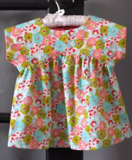 free - Izzy Top - FREE pattern sizes 18 months - 12