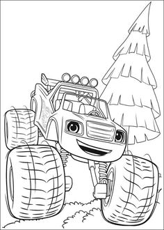 Blaze and The Monster Machine Coloring Pages. Blaze and The Monster Machine is an animated television series that contains science, technology, engineering and Nick Jr Coloring Pages, Abstract Coloring Pages, Easy Coloring Pages, Free Coloring Sheets, Cartoon Coloring Pages, Flower Coloring Pages, Mandala Coloring Pages, Coloring Pages To Print, Printable Coloring Pages
