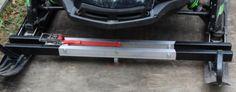 Fast-Clamp-V-Snowmobile-Trailer-Tie-Down-Quick-Release-Attach-Super-Heavy-Duty