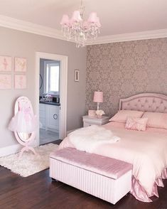 56 the basic facts of bedroom ideas for teen girls dream rooms teenagers girly 20 - Zimmergestaltung - Bedroom Decor Pink Bedroom Design, Girl Bedroom Designs, Gold Bedroom, Bedroom Decor, Bedroom Girls, Light Bedroom, Bedroom Ideas Rose Gold, Teen Bedrooms, Girl Rooms