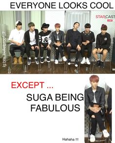 suga is just too fabulous <3