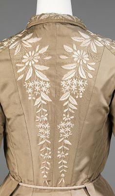 #Dressing Gown  Date: 1879 Culture: Japanese  Brown Dress #2dayslook #BrownDress #sasssjane #susan257892   www.2dayslook.com