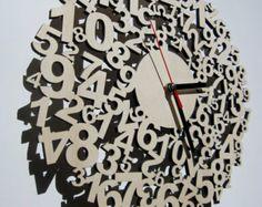 -Corte de la madera de láser - tiempos confusos del reloj