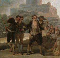 """Francisco de Goya: """"La era, o El Verano"""" (detail)"""