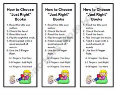 Bookmark - Just Right Book