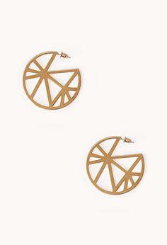 Modernist Dreamcatcher Earrings | FOREVER21 - 1000051825