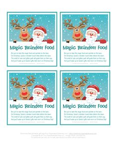 How to make reindeer food kids love this super simple and magical magic reindeer food recipe in a small zipper food storage bag or empty shaker container forumfinder Gallery