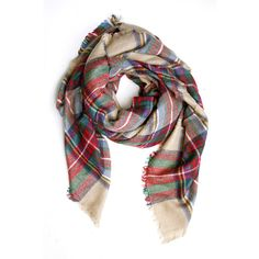 Classic Tartan Scarf (665 UAH) ❤ liked on Polyvore featuring accessories, scarves, tartan plaid scarves, plaid shawl, plaid scarves, tartan shawl and tartan scarves