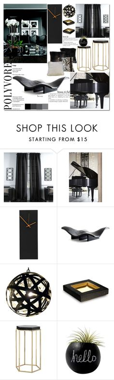 """Untitled #2884"" by naomimjc on Polyvore featuring interior, interiors, interior design, hogar, home decor, interior decorating, Universal Lighting and Decor, E + J y Dot & Bo"