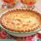 crab quiche - great for breakfast/lunch/snack :)