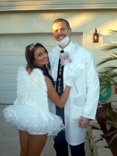 Dentist & A Tooth Fairy - Couples Halloween Costumes That Don't Suck - Photos