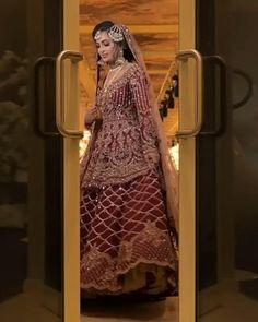 Latest Bridal Dresses, Asian Bridal Dresses, Pakistani Wedding Outfits, Pakistani Dresses Casual, Indian Bridal Outfits, Pakistani Wedding Dresses, Pakistani Dress Design, Asian Bridal Wear, Wedding Lehenga Designs