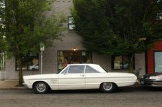 1966 Plymouth Fury III. As a new driver, I drove the family's mid-1970s model Fury III--loved that car. This is the one I'd like now.
