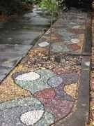 Mosaico jardín