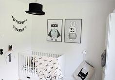 Chambre de bébé • 13 modèles pour s'inspirer • La monochrome • Lucie Bataille • Doula • Montréal