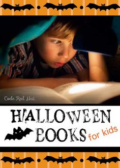 Halloween books your kids (and teens) will actually want to read. www.CodeRedHat.com
