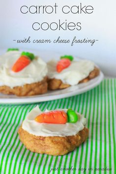 Just Another Day in Paradise: Carrot Cake Cookies