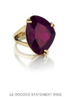 Le Rococo Statement Ring. Visit me at www.chloeandisabel/boutique/lesleymelvin