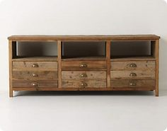 The original Illusorio cabinet from Anthropologie, although the link is to plans to build your own