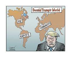 Donald Trump's World . . .  Cartoon | Donald Trump