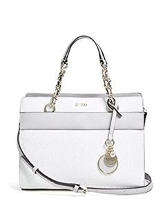 1a982e22a57d Amazon.com  GUESS Janette Logo Small Satchel  Clothing