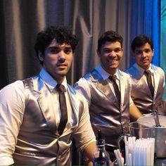 """""""Nossos bartenders Caio Valente, Lucas Leite e Iuri Almeida, responsáveis por servir os drinques para a garotada.. #conceptbar #bar #15anos #ocharmedafesta"""" Photo taken by @concept_bar on Instagram, pinned via the InstaPin iOS App! http://www.instapinapp.com (09/22/2013)"""