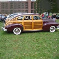 Although the Woodie Car was prominent in the 1940's and 1950's, they were around since the late 1910's and still are made today.    Real wood or...