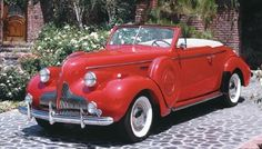 1939 Buick Special Convertible authorbryanblake.blogspot.com.