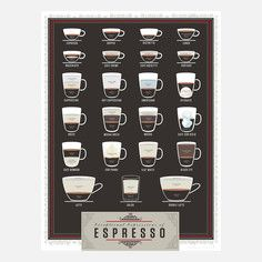 Exceptional Espresso 18x24, $25, now featured on Fab.