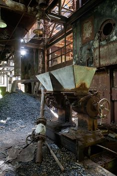 Hoppers. Abandoned Armour Meat Packing Plant, East St. Louis, IL