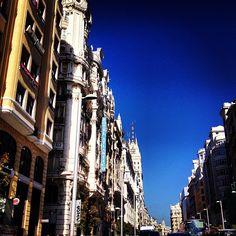 #madrid #granviamadrid #granvia Madrid