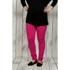 Maternity Knit Jeggings-Pink