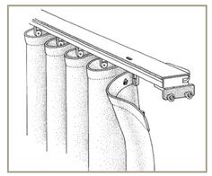Ripplefold Drapery System - Custom Window Treatments | Curtain Fair