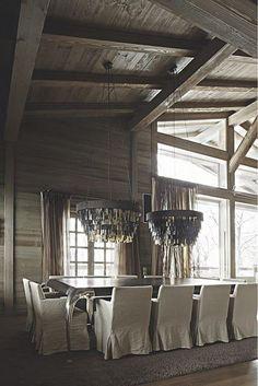 Kelly Hoppen Design.  Chalet, France.