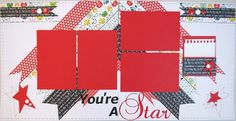"""You're A Star"" Scrapbooking Kit by Diva Karen!!"