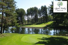$21 for 18 Holes with Cart at Apple Valley Golf Club in Howard near Columbus, Ohio!