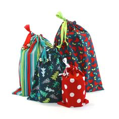 36 best Reusable Fabric Gift Bag Sets images on Pinterest | Fabric ...