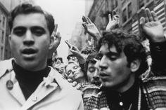 by Mary Ellen Mark  Anti-Vietnam War demonstration, New York City, 1968
