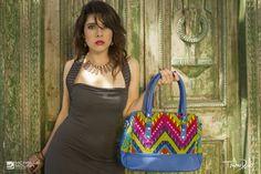 Bags - Thelma Davila Clothing Guatemala, photo by Michelle Molina/Eleven ProductionsGT Peacock Purse, Peacock Blue, Straw Bag, Shoulder Bag, Purses, Bags, Clothes, Fashion, Totes