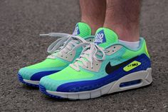 #Nike Air Max 90 Breathe 'Rio' #sneakers