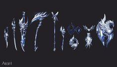 圖片 10_司令官系列武器 :: 挑戰你的視覺神經!《AION 永恆紀元》超新星覺醒華麗改版 :: gamebase 遊戲基地